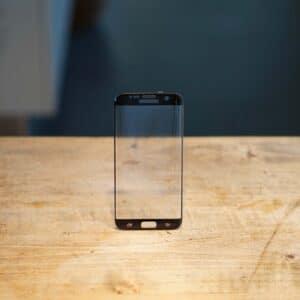 Verre trempé Samsung Galaxy S7 edge Noir