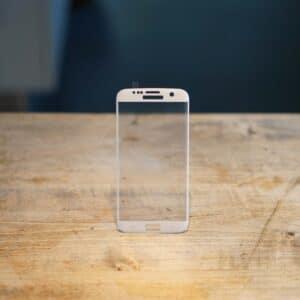 Verre trempé Samsung Galaxy S7 edge Blanc